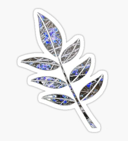 Leaf Sticker