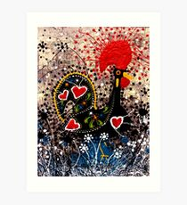Portuguese Rooster 2 Art Print