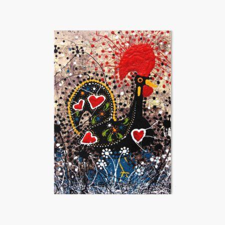 Portuguese Rooster 2 Art Board Print