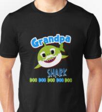 Großvater-Haifisch-Doo Doo Doo Hemd-T-Shirt Geschenkhemd Unisex T-Shirt