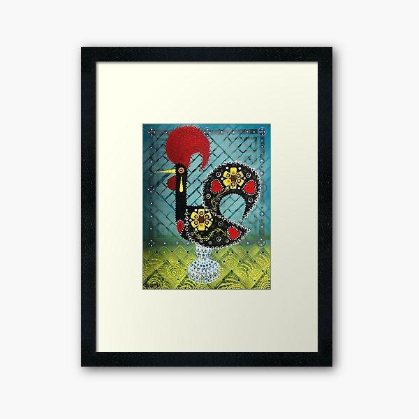Portuguese Rooster 8 Framed Art Print
