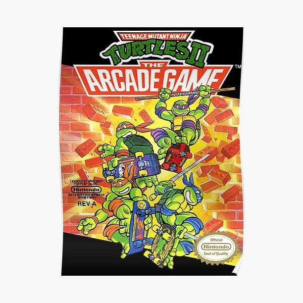Tmnt - Arcade Game Poster