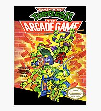 Tmnt - Arcade Game Photographic Print