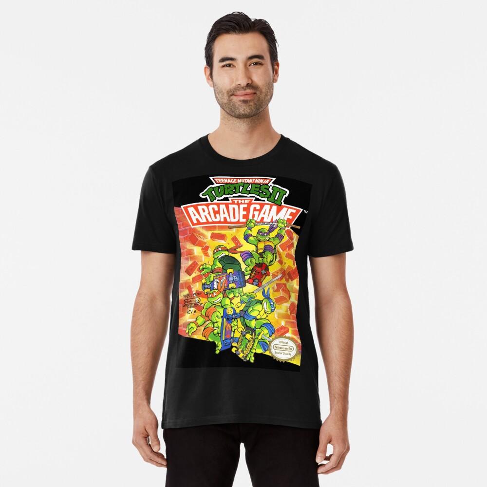 Tmnt - Juego de Arcade Camiseta premium