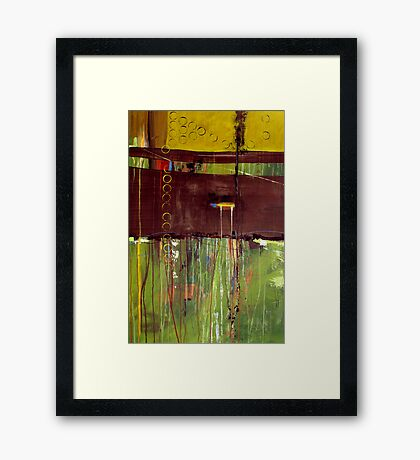 Quit Messing With My Head Framed Print