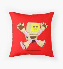 8 Bit Buzz v1.0.3 Throw Pillow