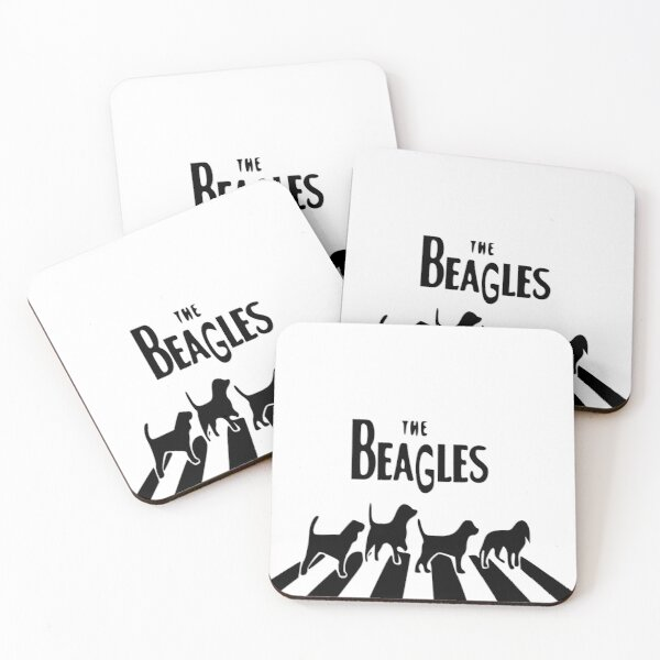 The Beagles- Beatles Coasters (Set of 4)