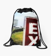 drive-in movie theater, route 66, litchfield, illinois Drawstring Bag