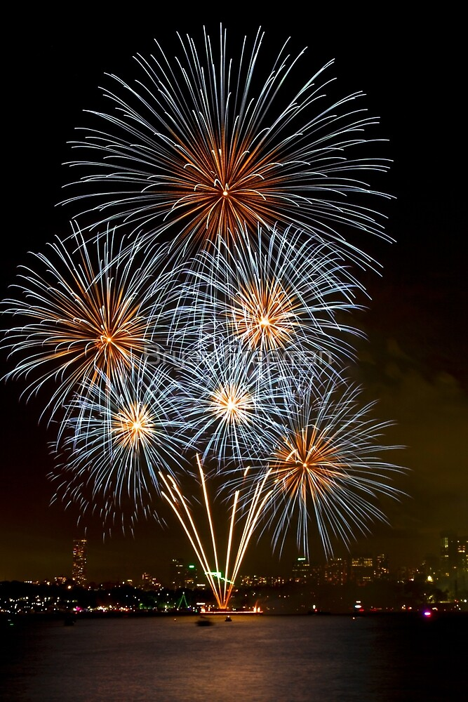 The Bouquet   New Years Eve   Sydney Harbour by Bryan Freeman