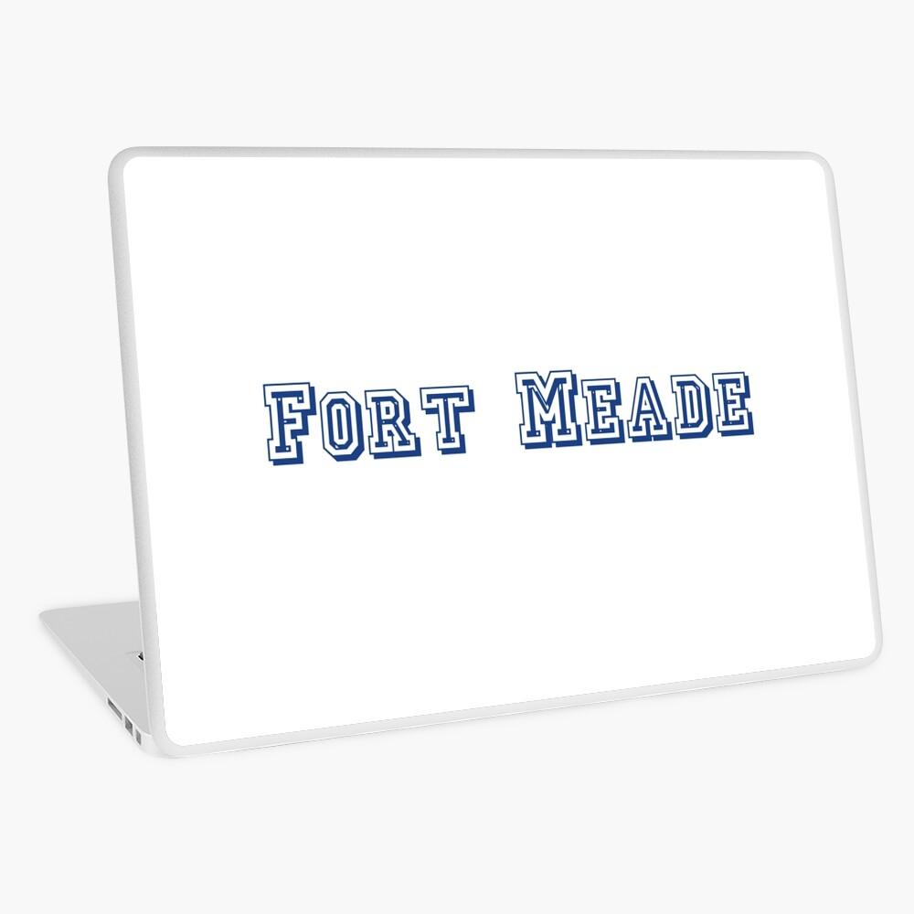 Fort Meade Laptop Skin