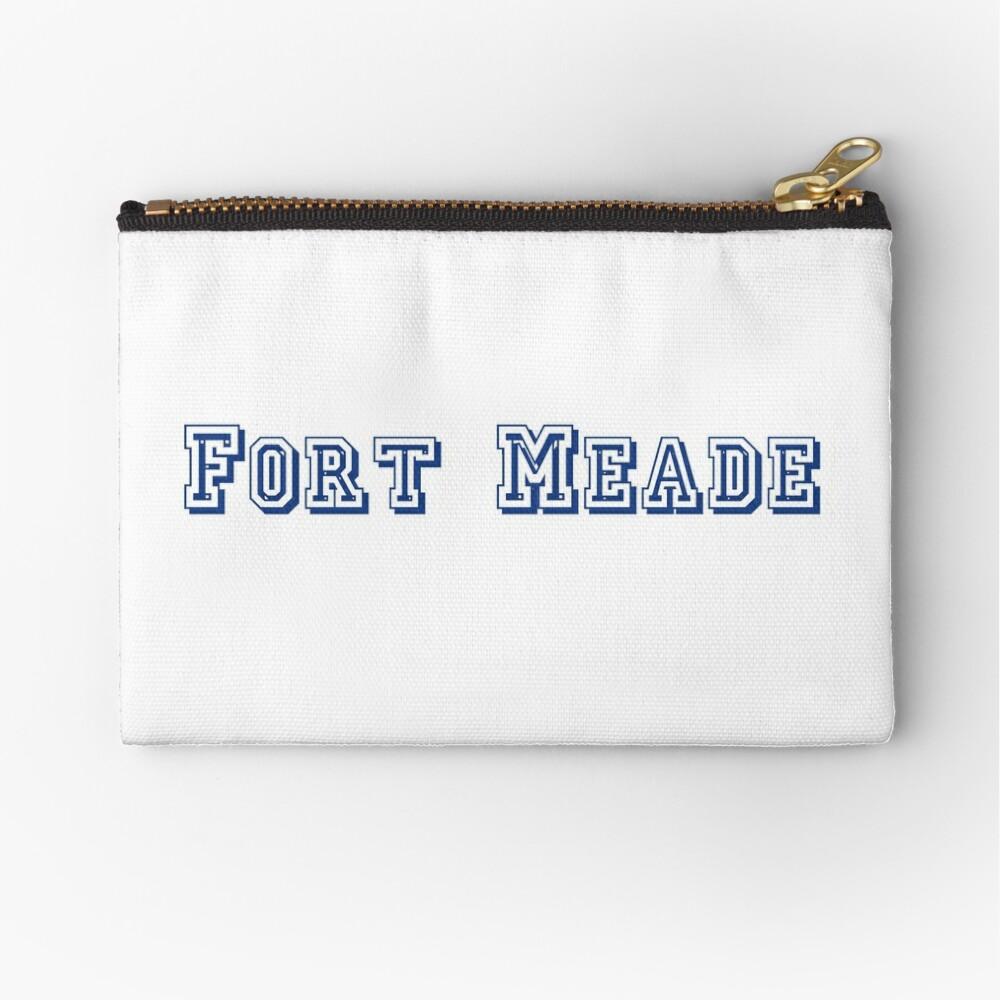 Fort Meade Zipper Pouch