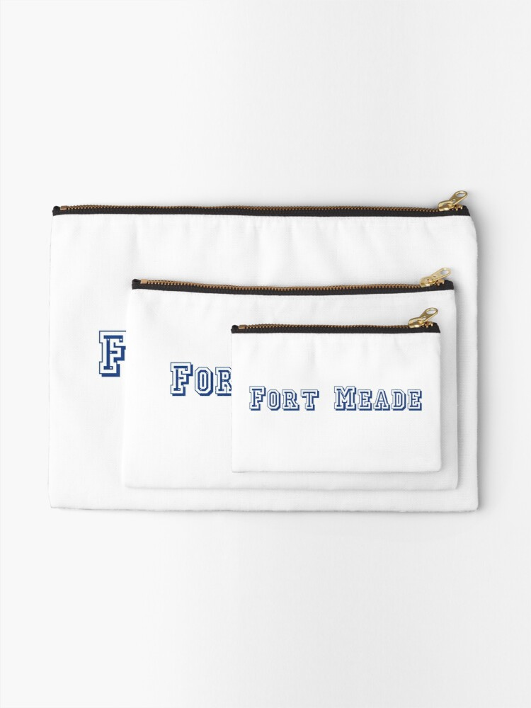 Alternate view of Fort Meade Zipper Pouch