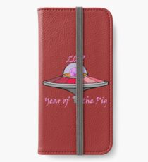 Year of the Pig 2019 iPhone Wallet/Case/Skin
