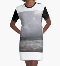 Coney Island - New York, #Coney, #Island, #New, #York, #ConeyIsland, #NewYork, #sea Graphic T-Shirt Dress