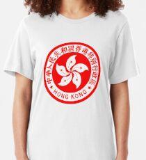 Emblem von Hong Kong Slim Fit T-Shirt