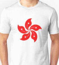 Camiseta unisex Flor de Hong Kong