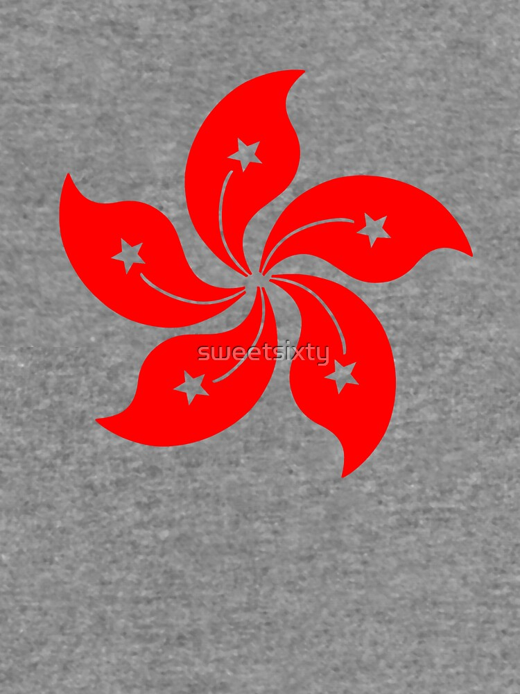 Flower Of Hong Kong Lightweight Hoodie By Sweetsixty Redbubble