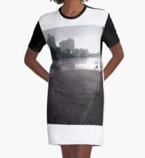 Coney Island - New York, #Coney, #Island, #New, #York, #ConeyIsland, #NewYork, New York City, City in New York Graphic T-Shirt Dress
