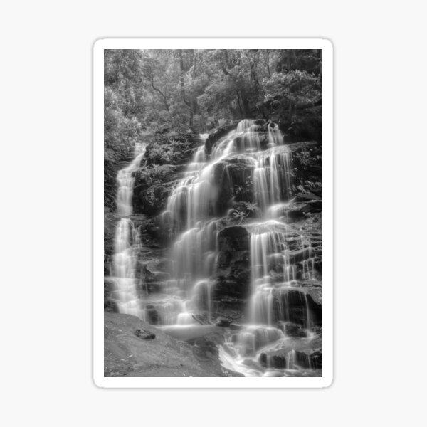 Sylvia Falls in Monochrome Sticker
