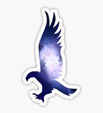 Eagle Blue Galaxy - House Pride Sticker