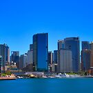Smooth Sailing - Circular Quay - Sydney Harbour - Australia by Bryan Freeman