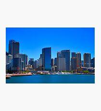 Smooth Sailing - Circular Quay - Sydney Harbour - Australia Photographic Print