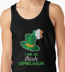 Irish St Patricks Day Leprechaun Tank Top