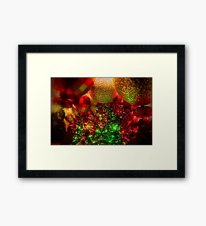 A Decorated Christmas Framed Print