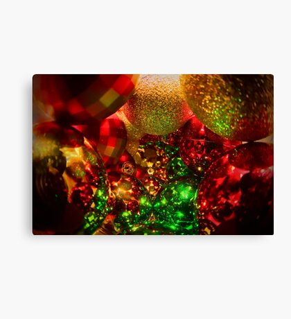 A Decorated Christmas Canvas Print