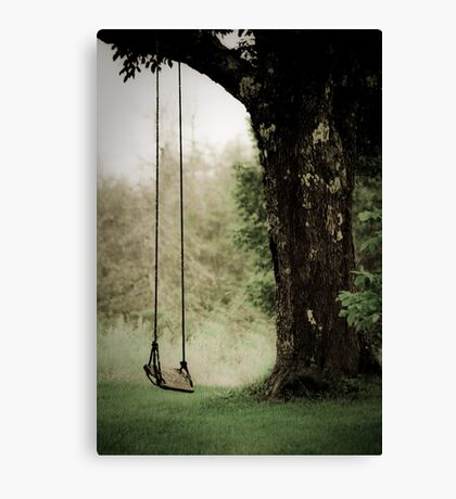 Thoughts of a Swing Canvas Print