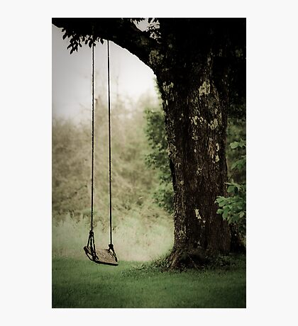 Thoughts of a Swing Photographic Print
