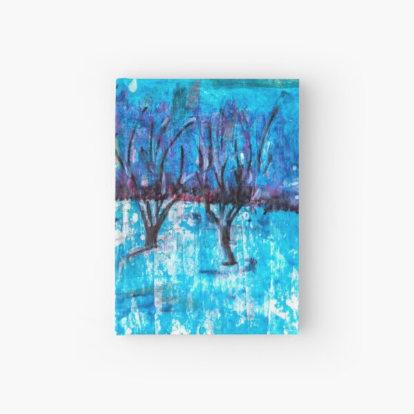 acrylic painting Hardcover Journal