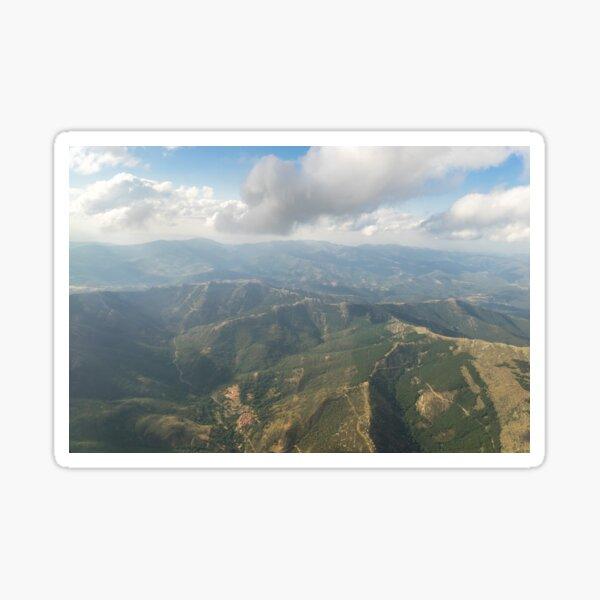 Aerial - Valley Village Sticker