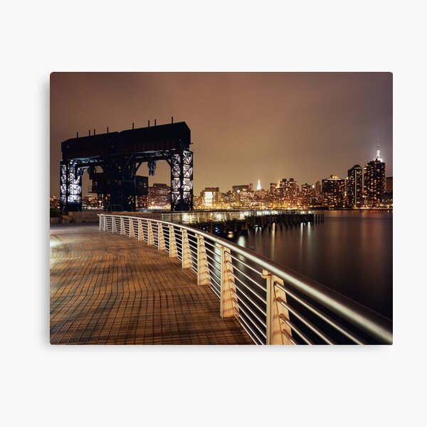 the gantry Canvas Print