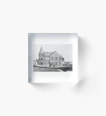CAPEL BYCHAN, RHOSLLANERCHRUGOG Acrylic Block
