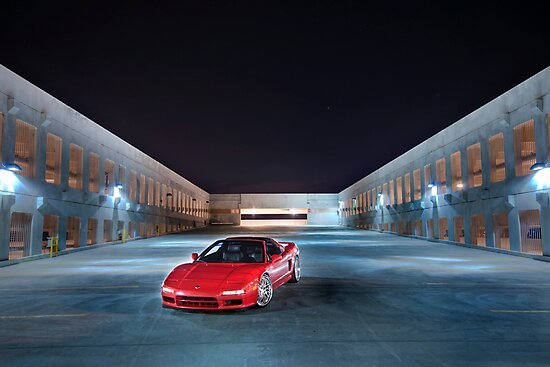 NSX at Night by Rob Smith