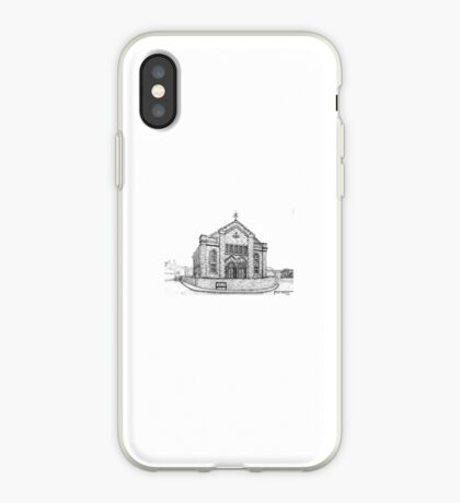 269 - SEION WELSH BAPTIST CHAPEL, PONCIAU - DAVE EDWARDS - INK - 2018 iPhone Case