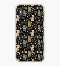 Cat Folk  iPhone Case