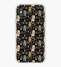 Cat Folk  iPhone Case