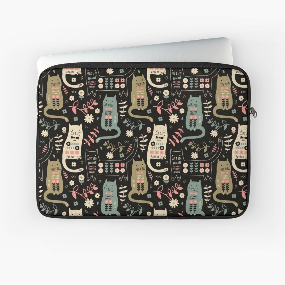 Cat Folk  Laptop Sleeve