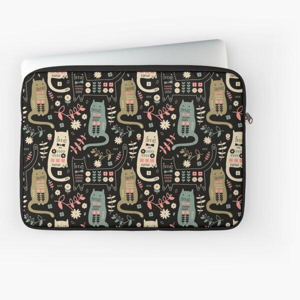 Cat Folk  Laptop Sleeve