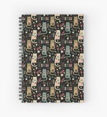 Cuaderno de espiral Cat Folk