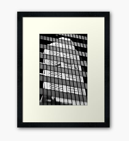 A Reflection on the MLC Building - Sydney - Australia Framed Print