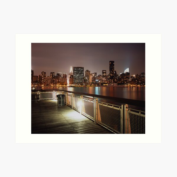 the color of night Art Print