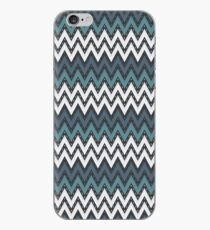 Chevron Weave Gothic Bayoux iPhone Case
