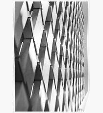 Zebragonals! - Sydney - Australia Poster