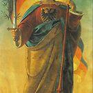 Germania ...from 1848 wall fresco in Frankfurt, St. Pauls Church by edsimoneit