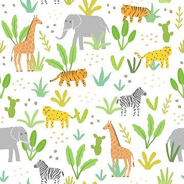 Jungle animals by kondratya