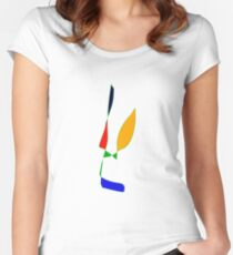 Contemporary Ease Women's Fitted Scoop T-Shirt