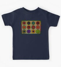 Colourful canvas Kids Tee